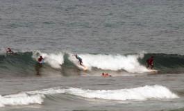 La Barra surfera.