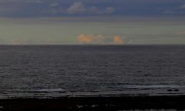 La Barra en primer termino, y tras la nube, en el horizonte, quizás San Borodón.