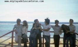 """La """"barandilla"""" de Playa Chica, sobre 1980- colecc. Familia Zanolety."""