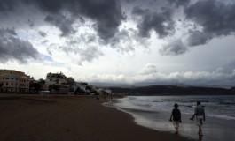Lunes de tormenta, mediodía.