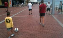 Tarde futbolera.