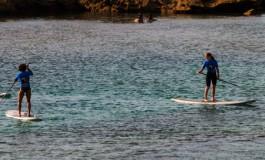 Practicando paddle.