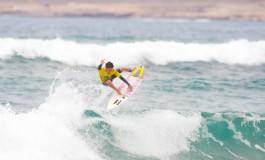 Este viernes llego el espectáculo del buen surf a La Cicer (Foto: organización campeonato)