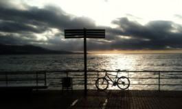 Tarde con bici.
