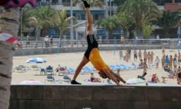 Alberto y su yoga.