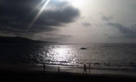 Rayo del sol.