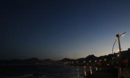 Buenos días desde la playa de Las Canteras.