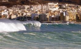 Martes de grandes olas.