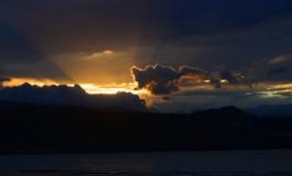 La luz tras la tormenta.