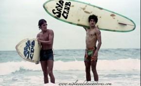 Alberto Jiménez y Pepe Codorniú. Los pioneros del surf