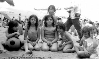 Las niñas y el fotógrafo, sobre 1965.