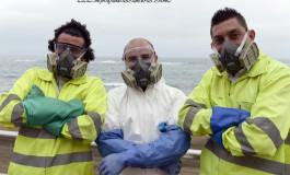 Alejandro, Alberto y Antonio son los limpia barandillas ¡
