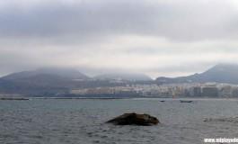 El cielo toca los volcanes de La Isleta.