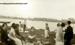 Picnic en La Barra Grande. Sobre 1920