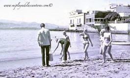 Los primeros bikinis.