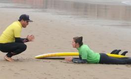 Una clase particular de surf.