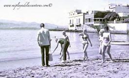Los primeros bikinis, sobre 1960.