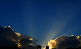Así fue el primer rayo del sol de hoy.