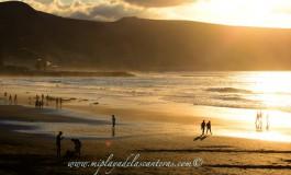 Esplendor en la playa de La Cicer.