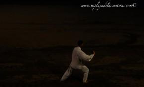 Ye Ying, el maestro de Tai Chi que reparte conocimientos en la playa de Las Canteras