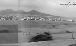 Las últimas dunas de Guanarteme.