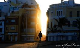 Caminando hacia la luz.