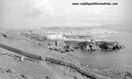 Zona de Los Nidillos y camino hacia El Confital. 1930.