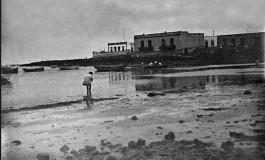 1915. Bajamar en La Puntilla.