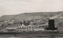 Foto aérea de la fábrica de La CICER. Sobre 1930.