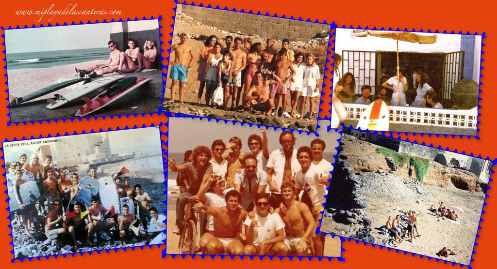 Aquellos años en la playa de La Cicer