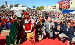 Melchor, Gaspar y Baltasar ya están en la ciudad