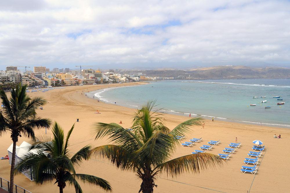 Ciudad de Mar quiere analizar la arena seca de Las Canteras