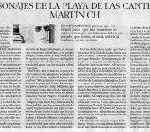 Personajes populares de la Playa de Las Canteras: Martín Ch. por José Juan Ojeda Quintana