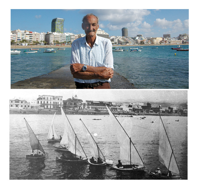 "Chano Ceballos: ""I was born on the 29th of May, 1922 between two beaches – Arrecife and San Rafael"""