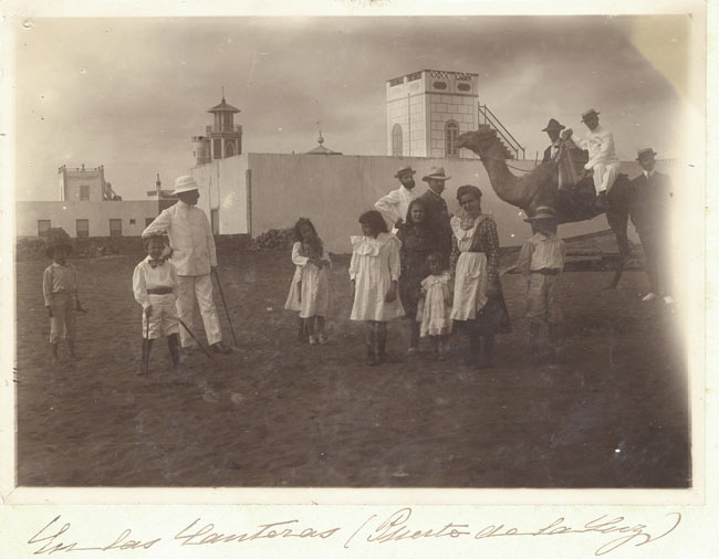 Fotógrafos históricos I. Jordao da Luz Perestrello fotografió Las Canteras y sus gentes en 1900