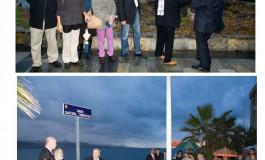 Foto noticia: Manuel Bermejo y Sindo Saavedra dan nombre a dos tramos del paseo de Las Canteras