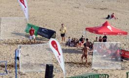 Nace en la playa de Las Canteras el juego para competir de las PALASCANARIAS, basado en las clásicas palas de playa.