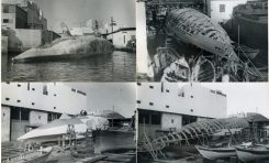 Documento gráfico extraordinario: Fotos de la construcción de  Moby Dick en La Isleta