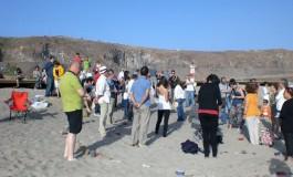 ESPIRAL II. Lectura de Poemas en la playa de El Confital.