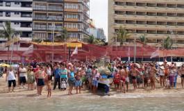 Reportaje Fotográfico: Este domingo se celebró el tradicional paseo marítimo con la Virgen del Carmen por la Bahía de El Confital.