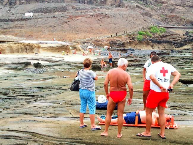 La playa de El Confital tendrá socorristas julio, agosto y septiembre