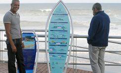 ¿Dónde están los paneles con las normas del buen surf?