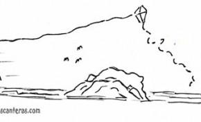 Antiguos juegos playeros(6)- El juego de la cometa