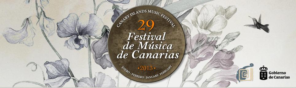 Acude al prestigioso Festival de Música de Canarias gracias a www.miplayadelascanteras.com. Sortearemos entradas entre nuestros seguidores/Sorteadas las entradas para el concierto del 13 de febrero.