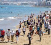 Reportaje fotográfico: #Geolodía2013 en la playa de Las Canteras. Foto interactiva