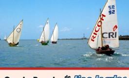 Gran sábado de regatas en la Bahía del Confital: barquillos a vela y cruceros.