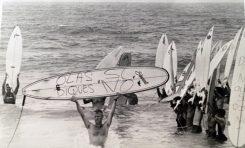 Olas si, diques no ¡¡ El año que el pueblo salvó a la playa de Las Canteras