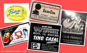 Anagramas históricos de discotecas y lugares míticos