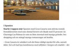 Las Palmas de Gran Canaria y la isla, el primer destino turístico de invierno para el diario sueco Svenska Dagbladet