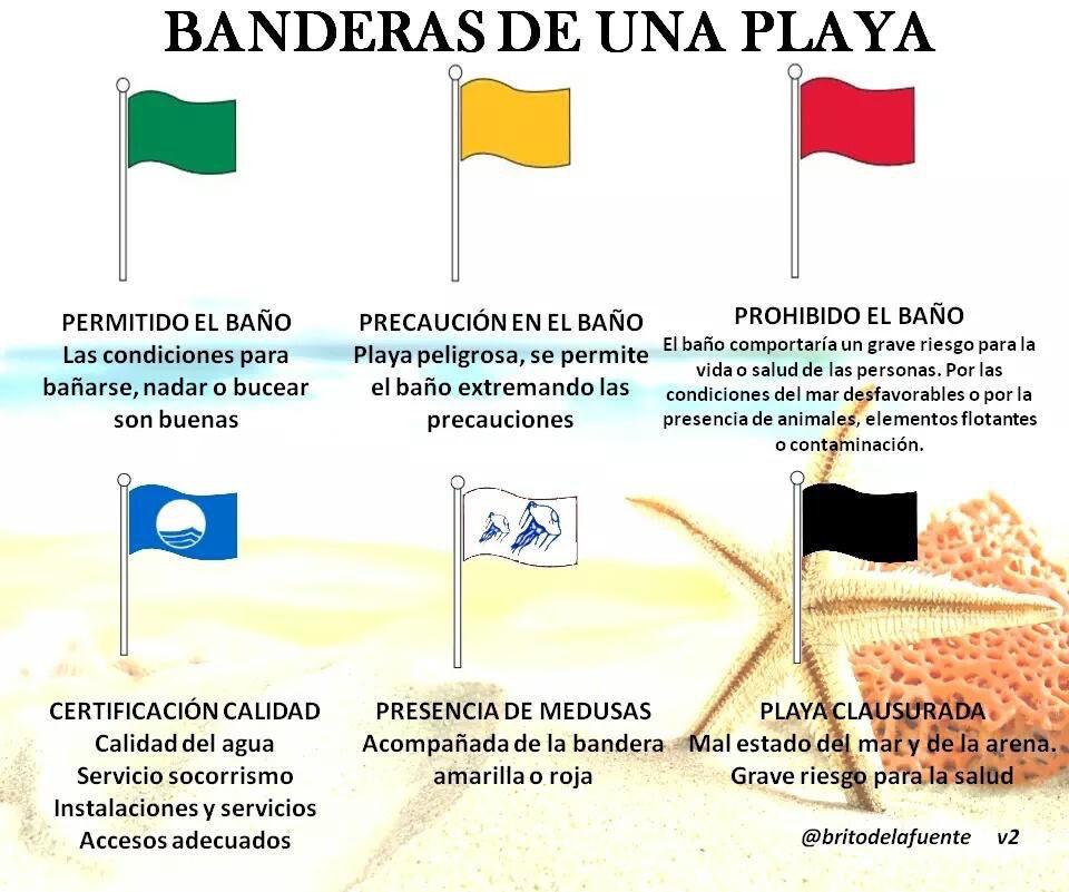 Qu significado tiene el color de las banderas en la playa Que significa contemporaneo wikipedia